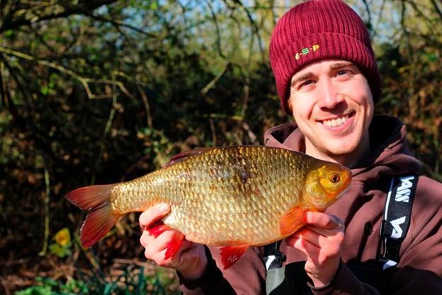 James Champkin Catches Impressive 3 lb plus Rudd