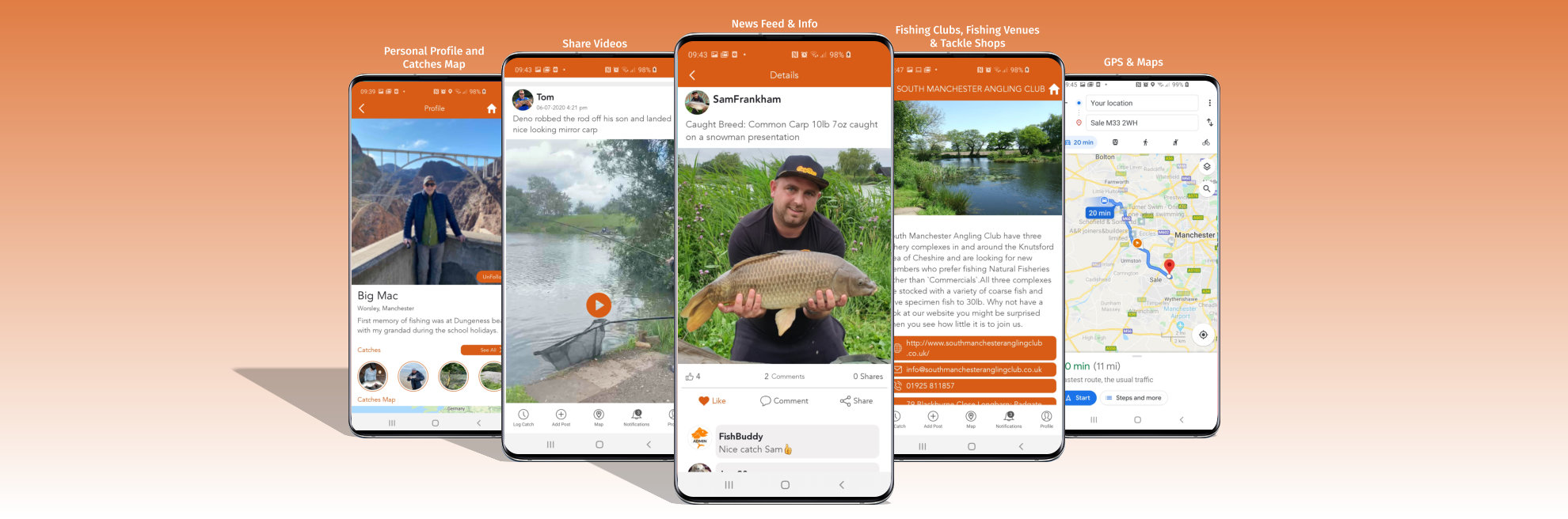 FishBuddy App - screenshots 3